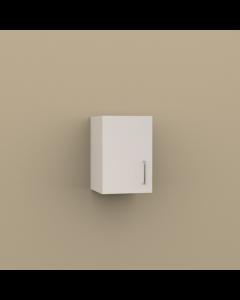 W1218 - SINGLE DOOR WALL CABINET 1 SHELF