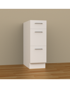 3DB12 - 3 DRAWERS BASE CABINET