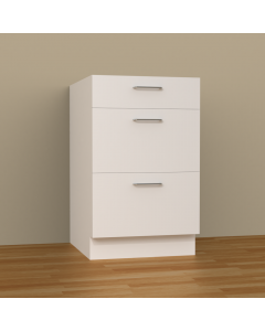 3DB21 - 3 DRAWERS BASE CABINET
