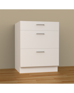 3DB27 - 3 DRAWERS BASE CABINET