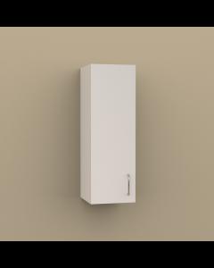 W1236 - SINGLE DOOR WALL CABINET 2 SHELVES