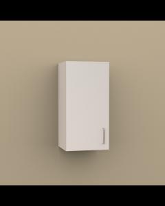 W1530 - SINGLE DOOR WALL CABINET - 2 SHELVES