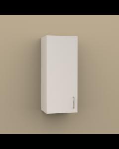 W1536 - SINGLE DOOR WALL CABINET 2 SHELVES