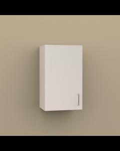 W1830 - SINGLE DOOR WALL CABINET 2 SHELVES